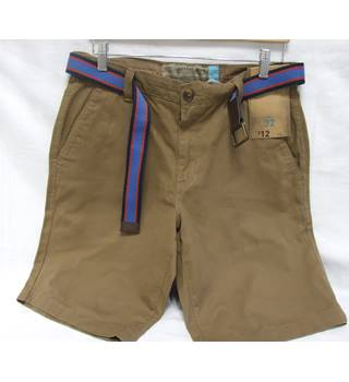 F&F -  Brown Cargo shorts with belt - Size: Small/ 32