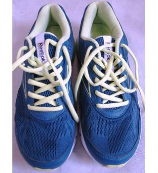 Reebok running trainers size 7/EUR 40.5 teal & yellow Reebok - Size: 7 - Blue - Trainers