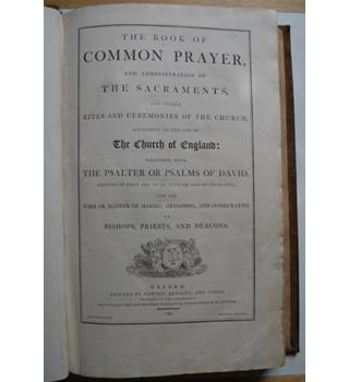 The Book of Common Prayer - 1799