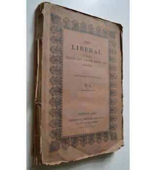 The Liberal. Verse and prose From The South. Volume the First. 1822