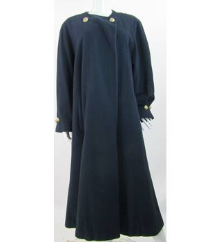 Selfridges by Admyra  - Size: 14 - Blue - Wool/Cashmere Long coat