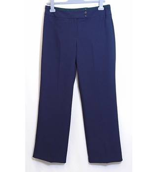 M&S Marks & Spencer - Size: 12 - Blue - Trousers