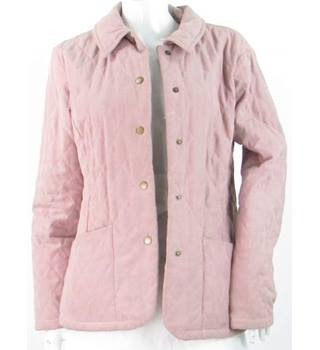 Barbour - Size: 10 - Pink - Quilted Jacket