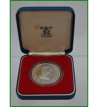 Mauritius - Silver Proof Crown - 25 Rupees   Queens Silver Jubilee - 1977