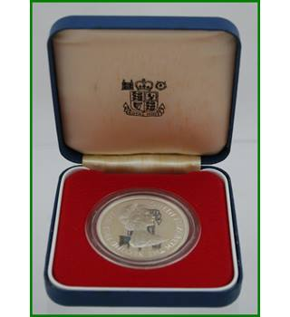 Bailiwick of Jersey - Silver Proof Crown - 25 Pence   Queens Silver Jubilee - 1977
