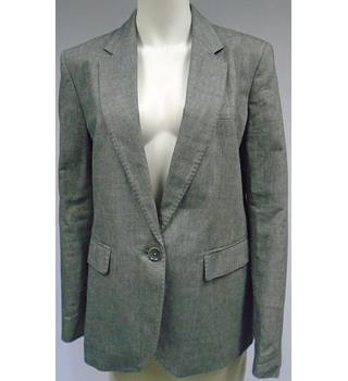 Gap - Size 10 - Grey - Cotton/Linen Mix - Jacket