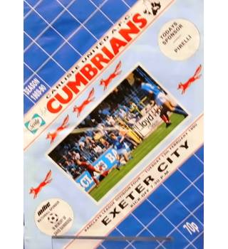 Carlisle United v Exeter City - Division 4 - 13th February 1990