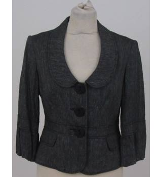 Principles size: 10 petite black and white short smart jacket