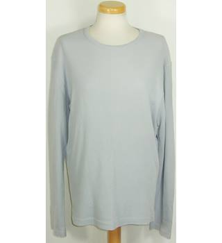 Farhi size large pale grey long sleeved top