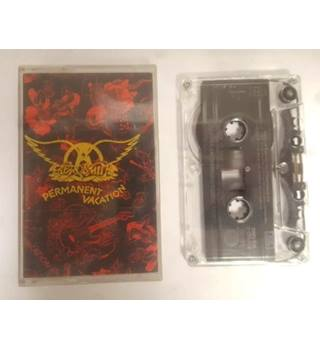 Aerosmith Permanent vacation CASSETTE