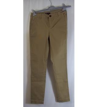 "MANGO- Casual Sports Wear - Size: 30"" Waist - Beige - Jeans"