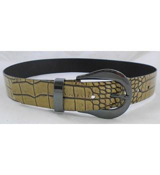 Belt with animal skin pattern Size S/M