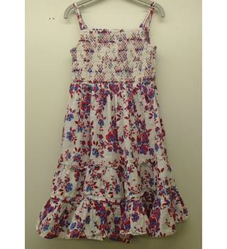Girl's dress by M&S Marks & Spencer - Size: 6 - 7 Years - Multi-coloured - Sleeveless