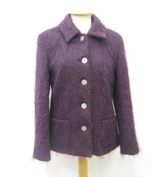 Cotsworld Collections Samuel Tweed Womens Jacket - Size: 10 - Purple