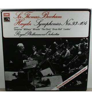Haydn - Symphonies Nos.93-104 - Royal Philharmonic Orchestra conducted by Sir Thomas Beecham - SLS 846