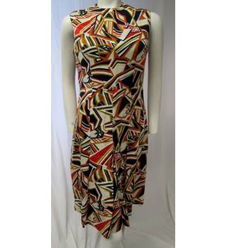 Geometric Patterned Dress Size S Unbranded - Size: S - Multi-coloured