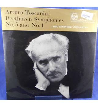 Beethoven: Symphonies No.5 And No.4  - Arturo Toscanini - RB- 16103