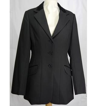 Shires Equestrian Products Size: S Black Riding jacket / coat