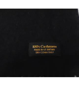100% Cashmere Scarf unknown - Blue