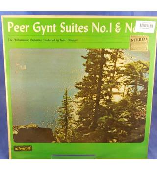 Grieg: Peer Gynt. Suites 1 And 2  - Franz Donauer - ALL 713