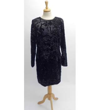 Ladies black evening dress by M&S limited edition M&S Marks & Spencer - Size: 16 - Black - Evening dress