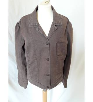 Per Una - Size: 18 - Brown - Jacket