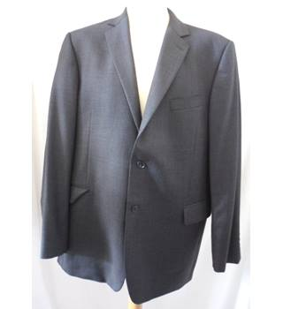 John Lewis - Size: 46R -  Dark Grey - Single breasted suit -