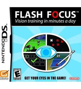 Flash Focus Vision Training in minutes a day Nintendo DS game
