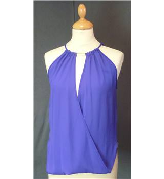 BNWT Lost Society Size 8 Blue Top