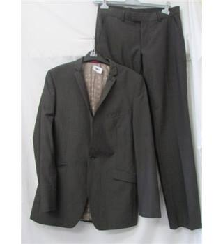 Limehaus - Size L - Grey - Single breasted suit