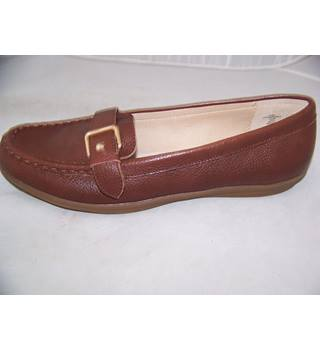 Lands' End - Size: 6 - Brown - Flat shoes