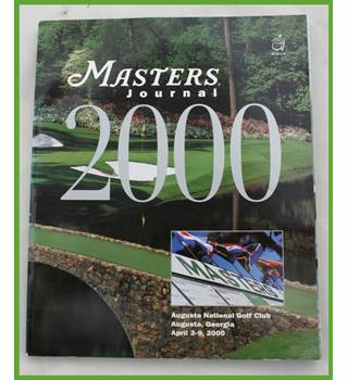 Masters  (Golf) Journal 2000