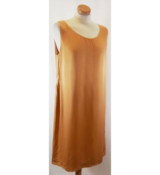 DRIES VAN NOTEN - Size: M - Golden Beige - Knee length dress