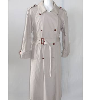 50% OFF SALEVintage Style Topshop Trench Coat Topshop - Size: 14 - Beige - Raincoat