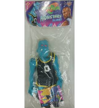 BNIB Vintage Warner Bros Space Jam Tune Squad Monstars Blanko Plush Stuffed Animal Doll