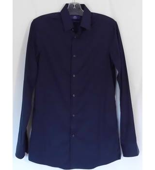 Next Slim Fit 100% Cotton Shirt 14.5'' Collar
