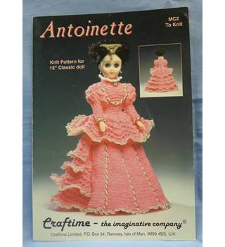 Antoinette  MC2  Dolls Knitting Pattern