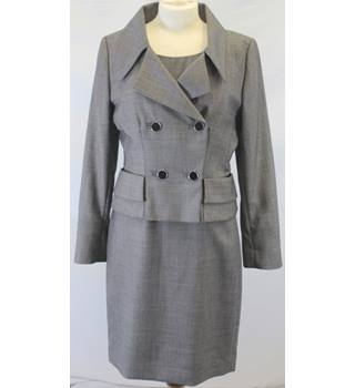 Hobbs - Size: 12 - Grey - Dress and jacket suit