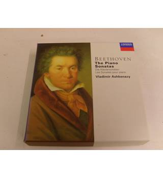 Beethoven The Piano Sonatas Vladimir Ashkenazy 10 CD boxset Decca London 443 706-2 Vladimir Ashkenazy