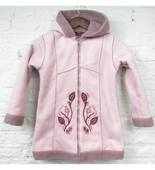 Pampolina - Size: 11 - 12 Years - Pink Embroidered - Coat
