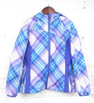 Snozu - Size: 7 - 8 Years - Pink/Purple Check -  Sports Jacket