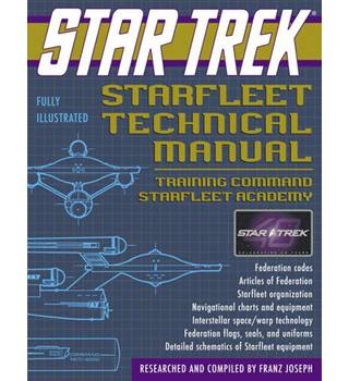 Star trek--starfleet technical manual