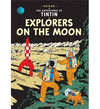 The Adventures of TinTin - Explorers on the moon