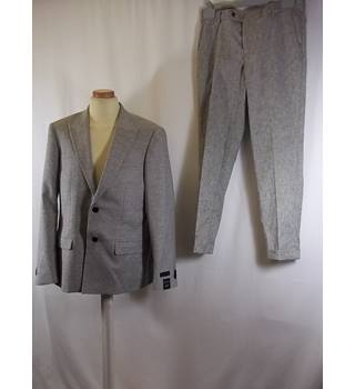 BNWT River Island - Size: L - Grey - Single breasted suit