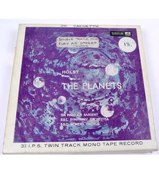Holst , The Planets Reel To Reel Tape TA-ALP 1600
