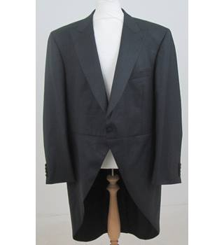 Masterhand - Size: 40R - Grey- Tail coat suit jacket