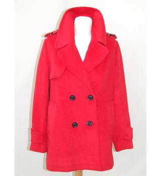 50% OFF SALE Rampage - Red Wool Jacket Rampage - Size: M - Red - Jacket