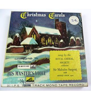 Christmas Carols ,Royal Choral Society ,Reel to Reel tape. TA- ALP 159