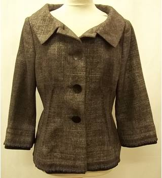Alberta Ferretti - Size: 14 - Grey - Smart jacket-Wool