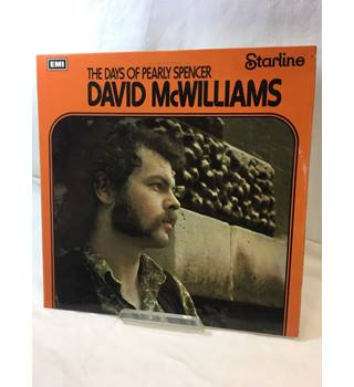 David McWilliams: The Days of Pearly Spencer - David McWilliams - SRS 5075